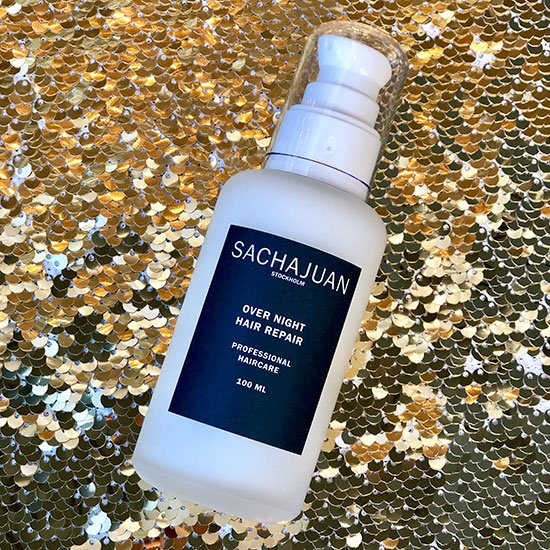 Sachajuan overnight hair repair for the holidays